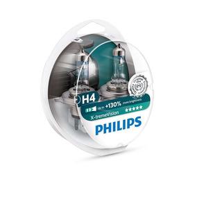 Kit Lâmpada Philips X-treme Vision H4 - 55\60w 12v - Par