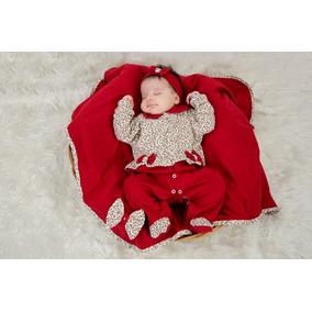 Saída Maternidade Menina Vermelho, Onça