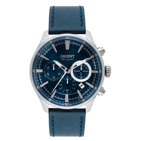 44a3f011688 Relogio Orient Pulseira Couro Calendario Masculino - Relógios De ...