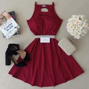 Vestido Boneca Delicado Saia Rodada Lafiore Store