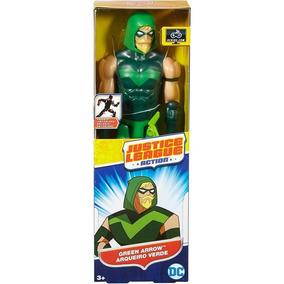 Boneco Justice League Action - Arqueiro Verde Green Arrow