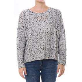 Sweater C/ochos Y Cartera Espalda