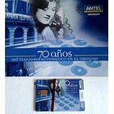 Colección Tarjetas Telefónicas Antel