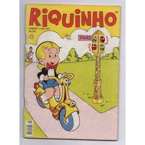Gibi Riquinho Número 1 Quadrinhos 2007
