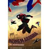 Filme Homem Aranha No Aranhaverso Dublado Envio Na Hora
