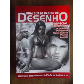 Revista Guia Curso Básico De Desenho: Especial