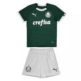 Conjunto Infantil Palmeiras Oficial Home /19 - Frete Grátis!