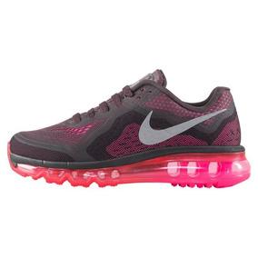 Tenis Nike Udt Air Max 2014 0917g Tex Negro Fiusha Dama a81b8a06ce1