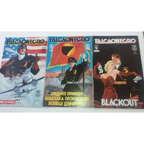 Hq Falcão Negro Minissérie Em 3 Edições Completa - Kk