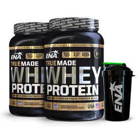 Combo Esencial - 2 Whey Protein + Shaker - Ena Sport