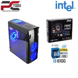 Computadora Gamer Intel Core I3 6100, Ram 8gb Ddr4