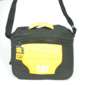 Bolso Morral Grande Cat + Billetera Cuero Cat + Envio Gratis