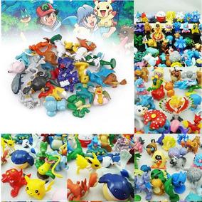 100 Miniaturas De Pokemons + Frete