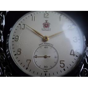 7885b6f818a Relogio De Bolso Lavina Centenario - Relógios no Mercado Livre Brasil