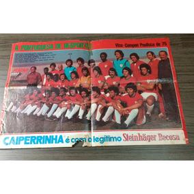 Pôster Da Portuguesa De Desportos Vice Campeã Paulista 1975