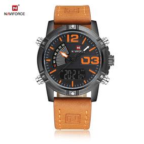 Reloj Naviforce Nf9095m Hombre Dual Deportivo Luminoso Led