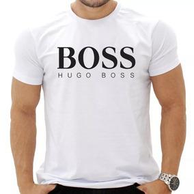 Camiseta Com Estampa Personalizada Boss Hugo 3088d985987