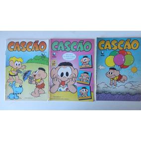 5 Gibis Cascão Nºs 9 Ao 82 Ed. Globo