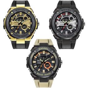 5a4950a0e74 Relógio Importado Masculino Esportivo Display De Led Alarme