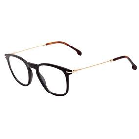 1ba20459e Carrera 156 V - Óculos De Grau 807 20 Preto E Dourado Brilho