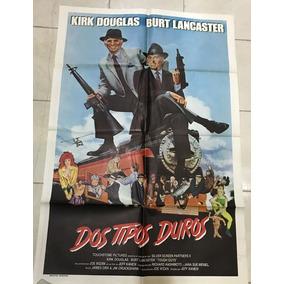 Antiguo Afiche De Cine Original C/ Kirk Douglas-envio Gratis