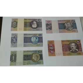 Vendo Lote De 5 Notas Antigas De Cruzeiros