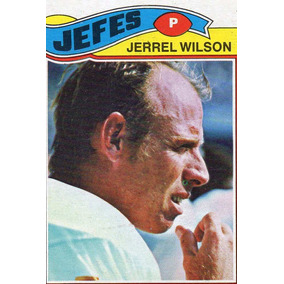 1977 Topps Mexican Jerrel Wilson Jefes De Kansas City # 362