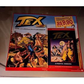 Tex Gold N° 01 O Profeta Indígina Vai Lacrado Completo !