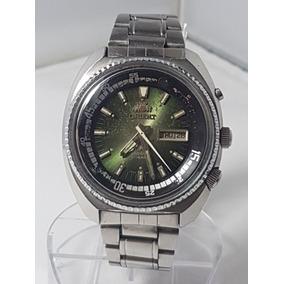 c9b7548367f Relógio Orient King Diver Automático Calendario Duplo Verde