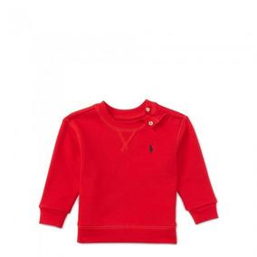 Blusa De Moletom Forrada Ralph Lauren Original Infantil 23bbf29e206