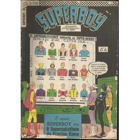 Revista Hq Superboy 1967 (ed Ebal) Nº 9