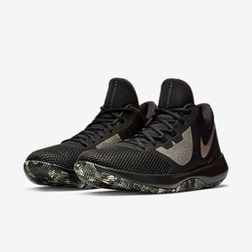 Tênis Nike Air Precision 2 Preto E Cinza Original - Footletr e23127e5573c9