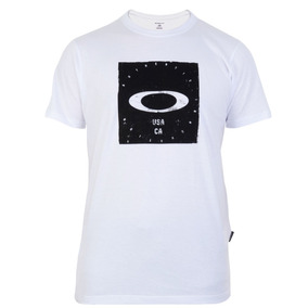 Camiseta Oakley Bolded Elipse Tee Branca 09bad3610d4ed
