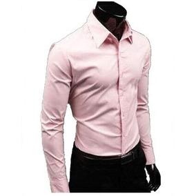 Camisas De Vestir Classic Slim Fit Shirt Basic Shirt Moda Ja