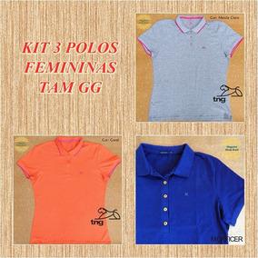 Camisa Polo Tng Mulher - Pólos Manga Curta Femininas no Mercado ... f4962707395e2