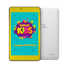 Tablet Dl Kids C10 Android 7.1 Tela 7 8gb Wi-fi