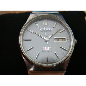Reloj Citizen Automático Vintage. Bonito Dial Color Gris.