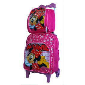 aea8aa9015 Bolsa Ladybug Escolar - Mochila Escolar para Meninas Rosa chiclete ...