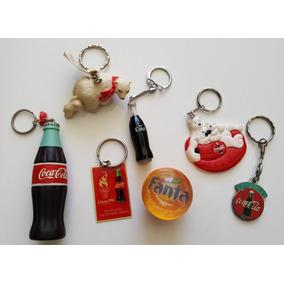 Lote Chaveiros Da Coca Cola Original Importados
