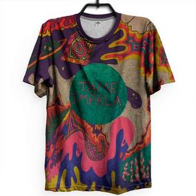 Camiseta Tame Impala Indie Tie Dye Psicodélico Lançamento f2f74100789