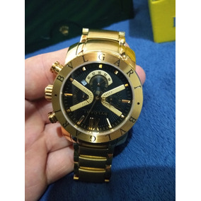 Relogio Bulgari Banhado A Ouro - Relógios De Pulso no Mercado Livre ... c94bab87bc