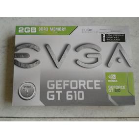 Tarjeta Grafica Evga Geforce Gt 610