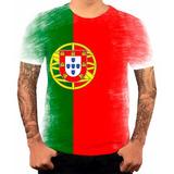 Camiseta Camisa Personalizada Bandeira Portugal Pais Hd 1 ff564c3bfc694