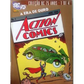 Coleção 75 Anos Dc Comics. 1 De 4. A Era De Ouro. Panini.