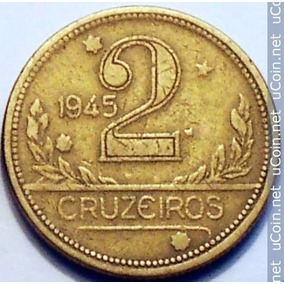 Moeda 2 Cruzeiro 1945 Invertida