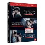 Dvd - Coleção Cinquenta Tons 3 Filmes