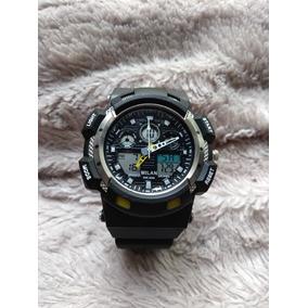 0dadc54bd45 Relógio Milan Esportivo Digital E Analógico Com Cronometro