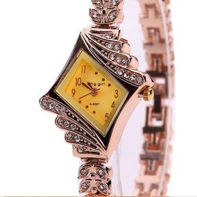 384e1f60535 Relogios Femininos De Luxo Com Pedras - Relógios De Pulso no Mercado ...