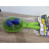 Raquete De Tênis Plástica Com Bolinha - Para Brincar