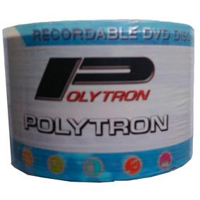 Dvd Virgem Dvd-r Polytron Pack Com 50 Unidades
